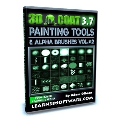 3D Coat- Painting Tools and Alpha Brushes Volume #2