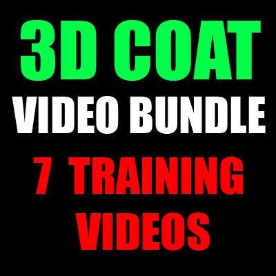 3D Coat Bundle-7 Training Videos-by Adam Gibson