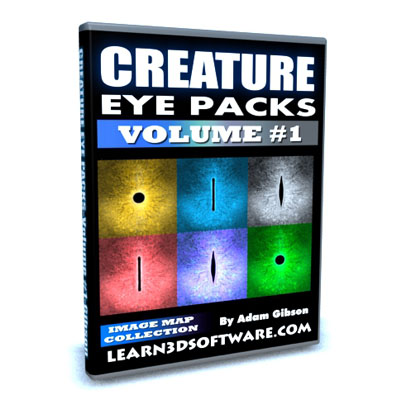 Creature Eye Packs- Volume #1