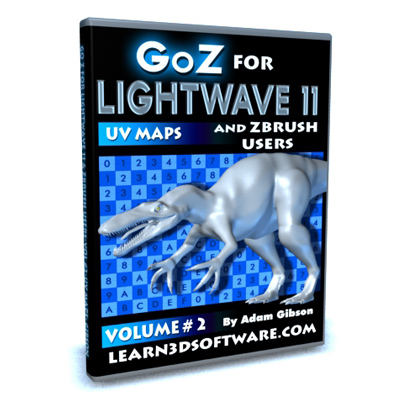 GoZ for Lightwave 11 and ZBrush Users-Volume #2-UV Maps