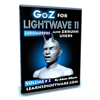 GoZ for Lightwave 11 and ZBrush Users- Volume #3- Endomorphs