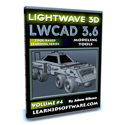 LWCAD 3.6 Modeling Tools (Volume #4) [AG]