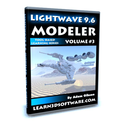 Lightwave 3D 9.6 Modeler Volume #3