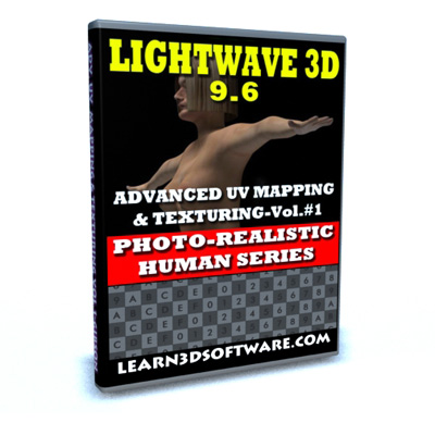 Lightwave 9.6-Advanced UV Mapping & Texturing-Vol.#1  [AG]