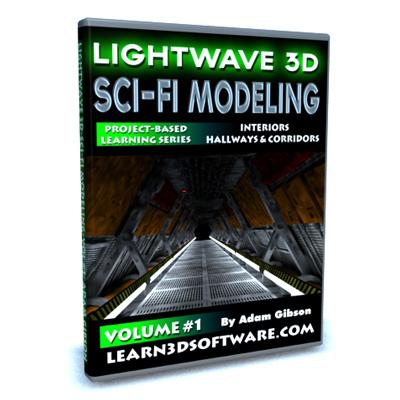 Lightwave Sci-Fi Modeling (Volume #1)-Interiors: Hallways & Corridors