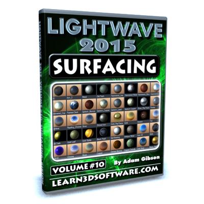 Lightwave 2015- Volume #10- Surfacing [AG]