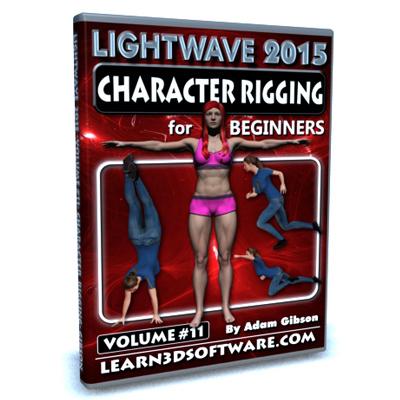 Lightwave 2015- Volume #11- Character Rigging for Beginners [AG]