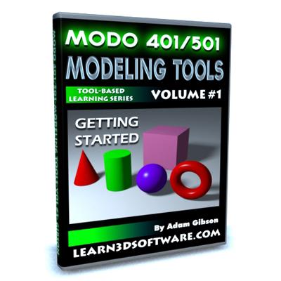 Modo 401/501-Modeling Tools-Volume #1