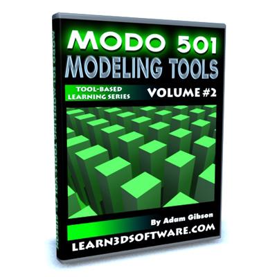 Modo 501 Modeling Tools (Volume #2)
