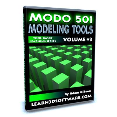 Modo 501 Modeling Tools (Volume #3)