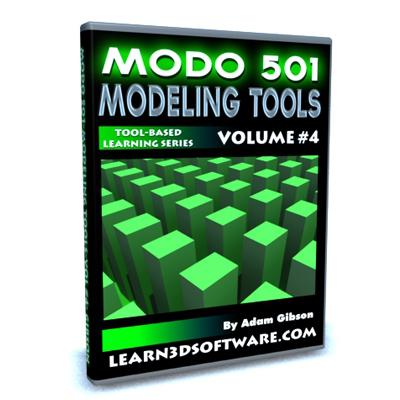 Modo 501 Modeling Tools (Volume #4)