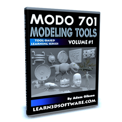 Modo 701 Modeling Tools- Volume #1