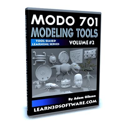 Modo 701 Modeling Tools- Volume #2