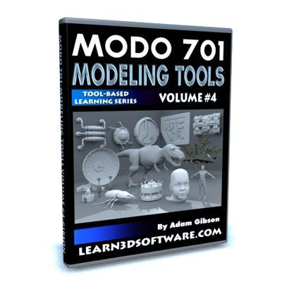 MODO 701 Modeling Tools-Volume #4