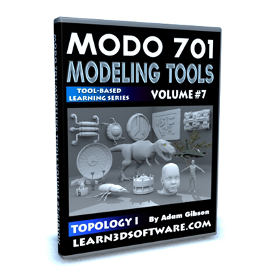 Modo 701-Modeling Tools-Volume #7-Topology I