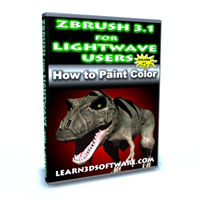 ZBrush 3.1 for Lightwave Users Volume #1-How to Paint Color